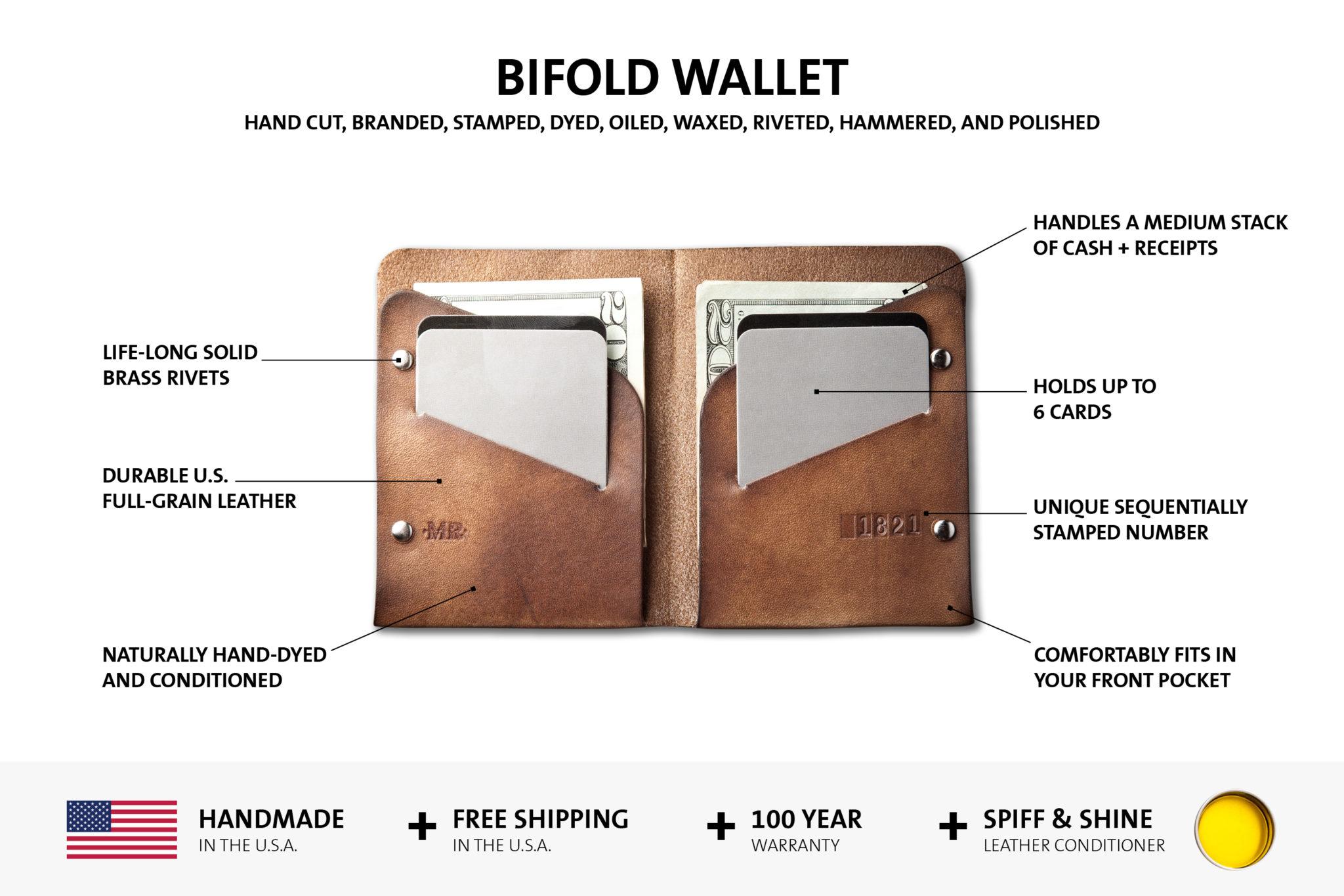 slim leather wallet benefits