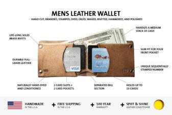 Mr. Lentz Mens Leather Wallet
