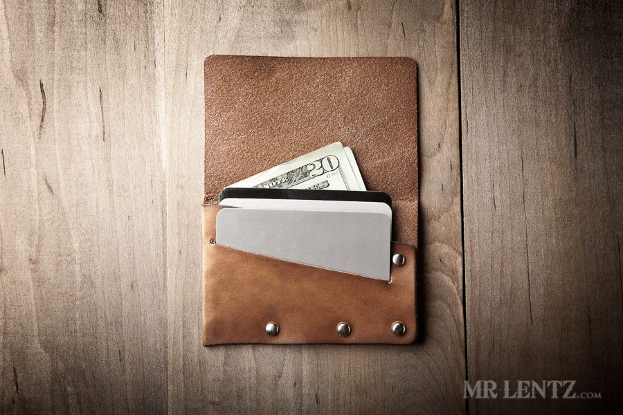 Simple Flap Wallet Leather Card Wallet Mr Lentz Shop