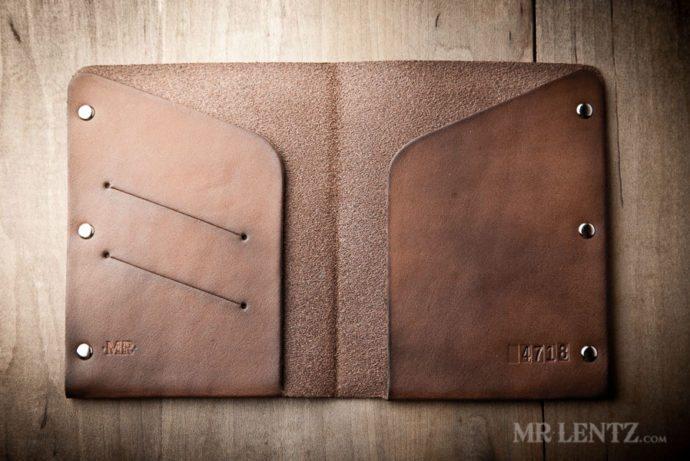 Leather Passport Wallet Passport Wallet Mr Lentz Shop
