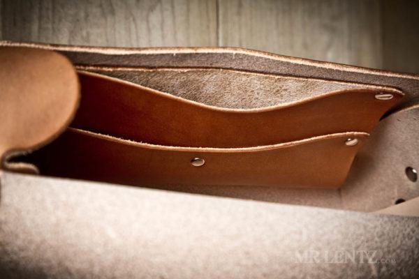 interior storage for crossbody purse