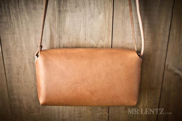 full grain leather purse