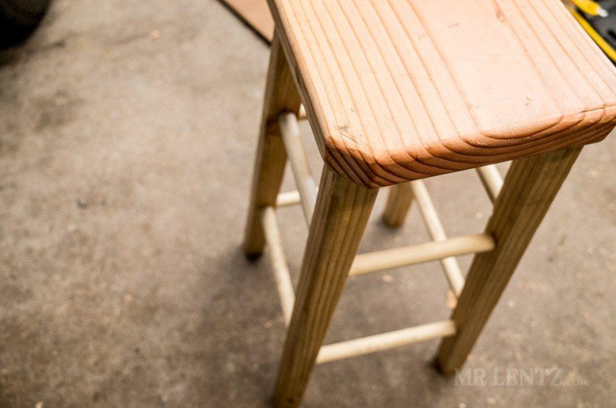 diy wood stool
