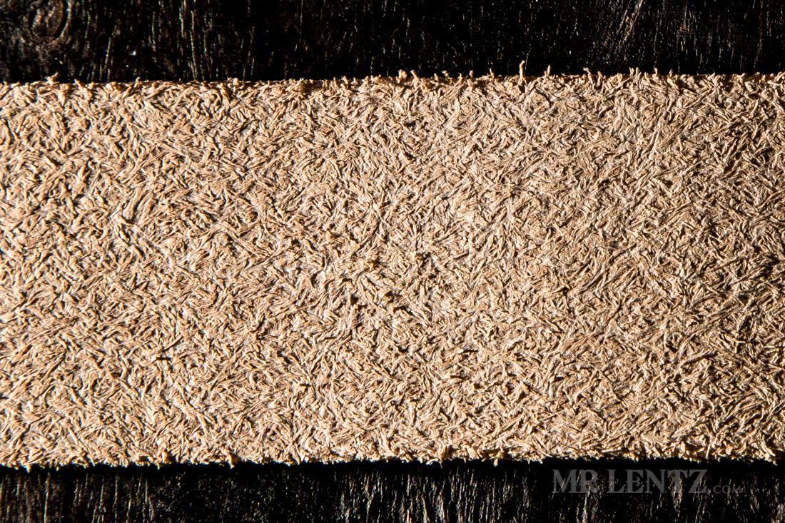 full grain leather flesh side