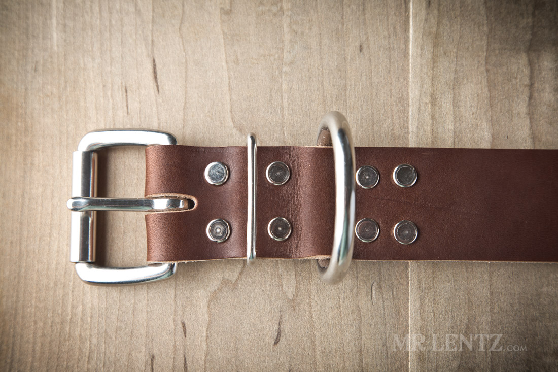 leather dog collar for large dogs