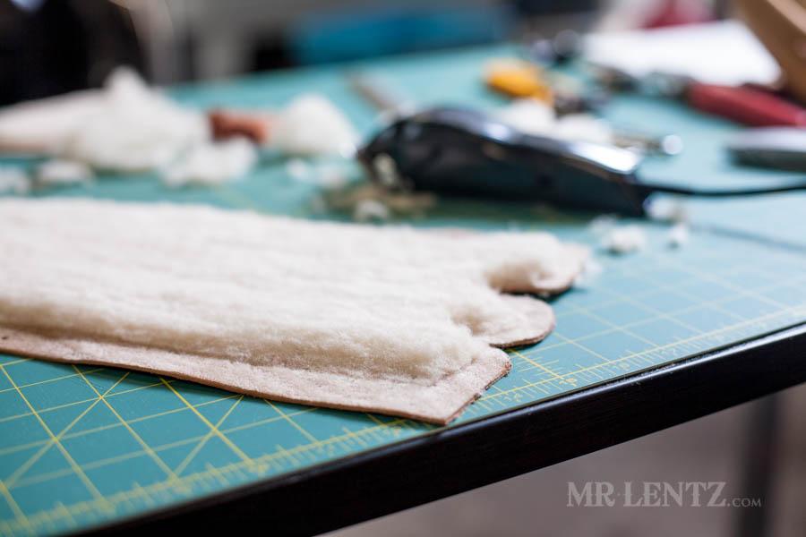 how to make leather moccosins