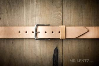 tan wide leather belt