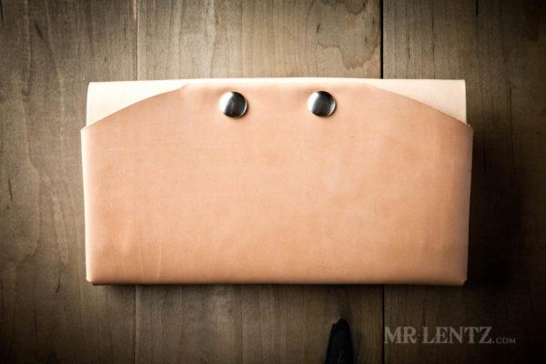 tan phone clutch