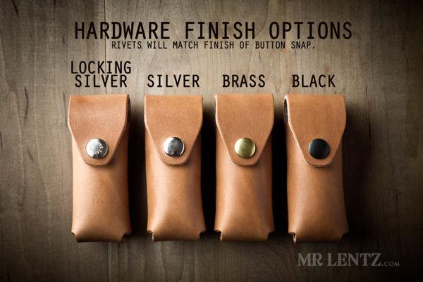 leatherman multi tool sheath hardware finish options