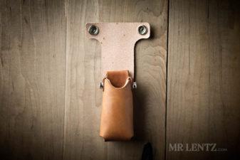 lined leather multi tool sheath