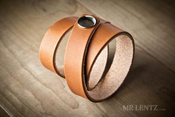 womens triple wrap cuff wrist bracelet