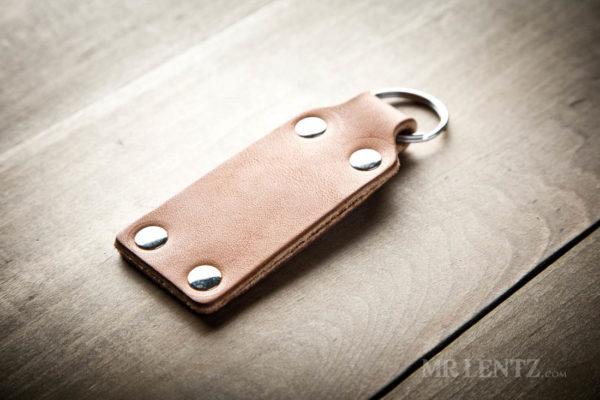 leather keychain handmade