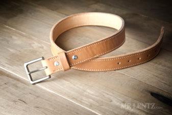 gun belt in brown