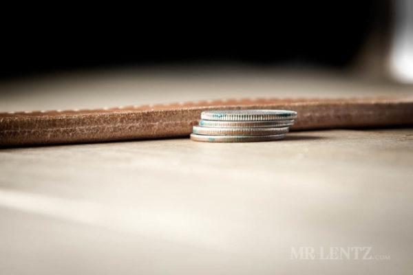 thick leather gun belt