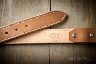 brown on tan gun belt